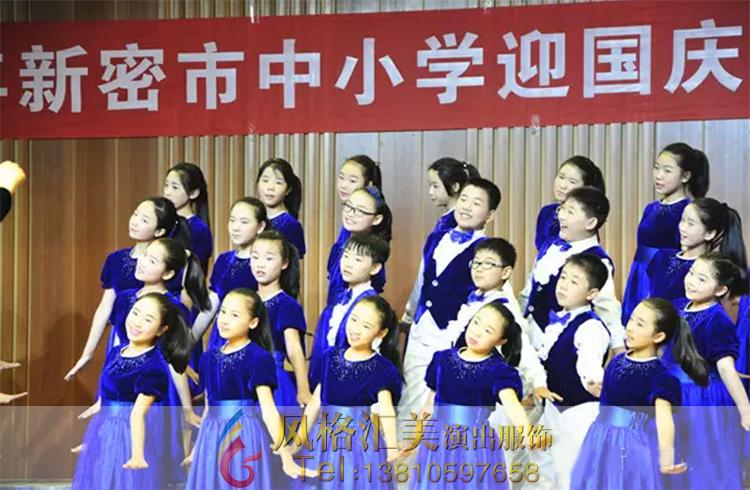 儿童合唱服装