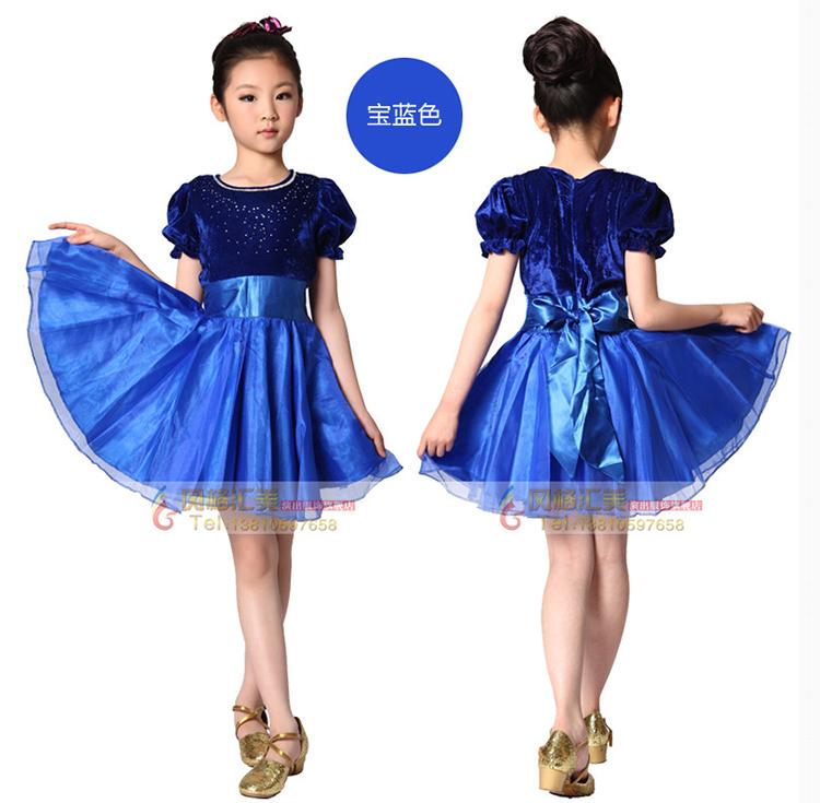 儿童合唱服装设计