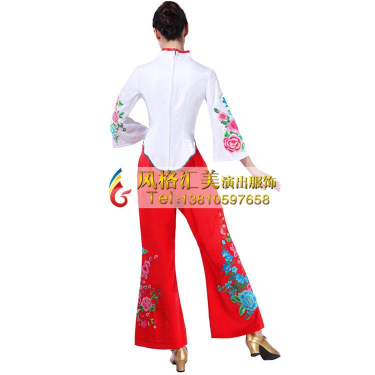 秧歌舞蹈服装