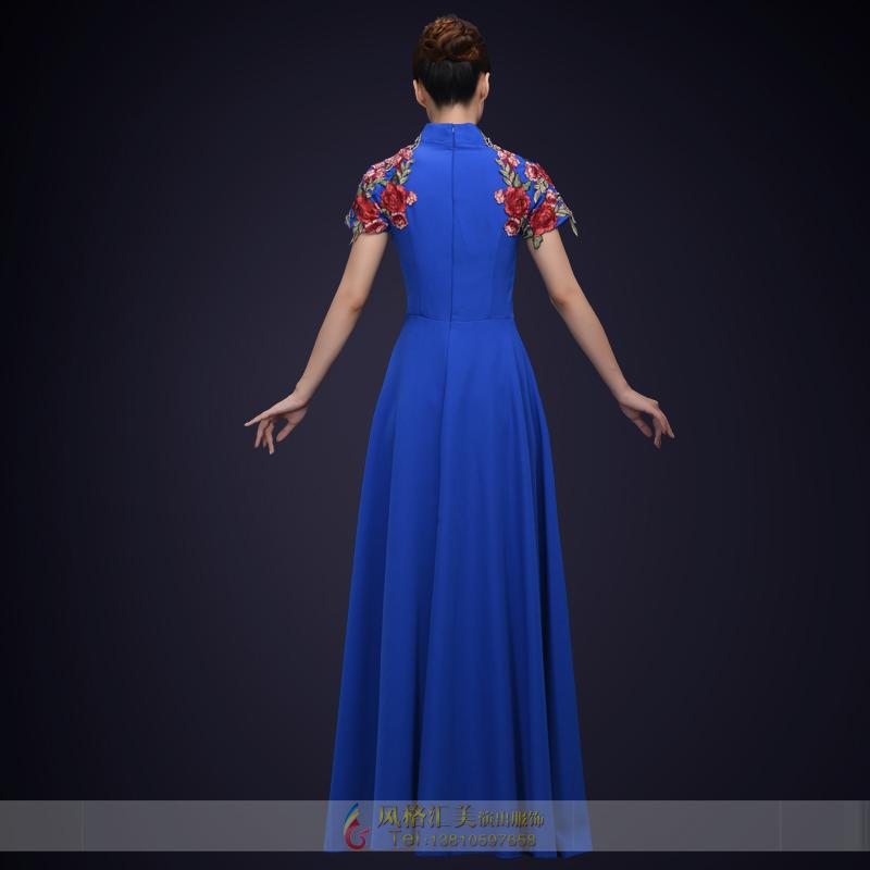 校园合唱比赛演出服装大学生合唱舞台表演服装定制