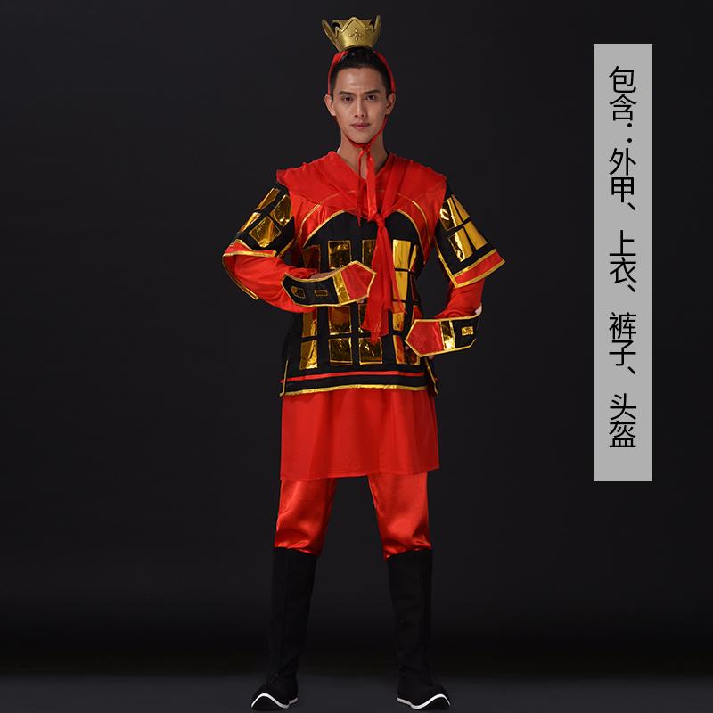 舞台演出服装战将古典舞台演出服装定制款式