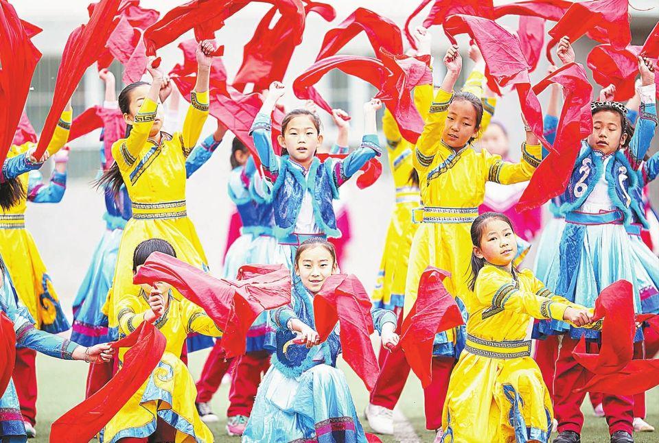 蒙古族舞蹈表演服装生产工厂