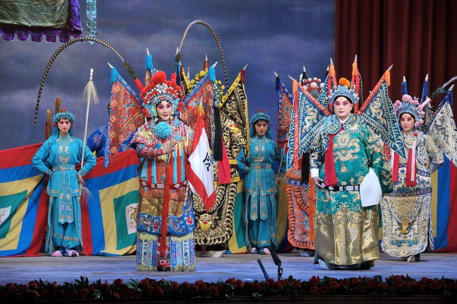 中国戏曲服装传统文化,不愧是国粹!