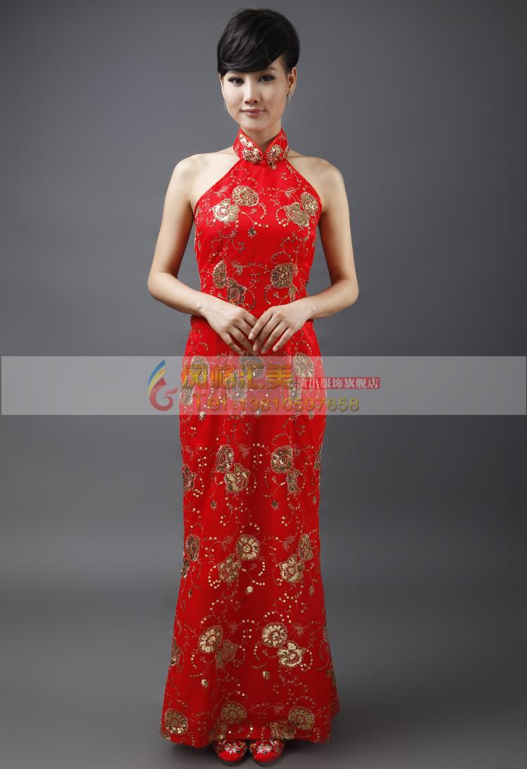 中式旗袍礼服的特点有哪些