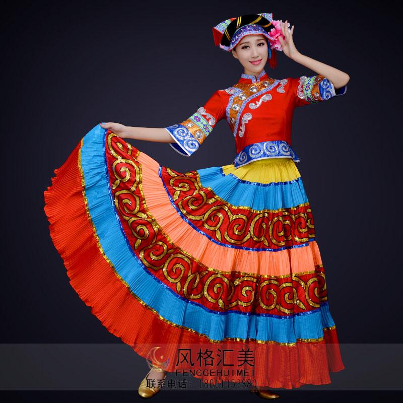民族舞蹈演出服装设计与定制款式