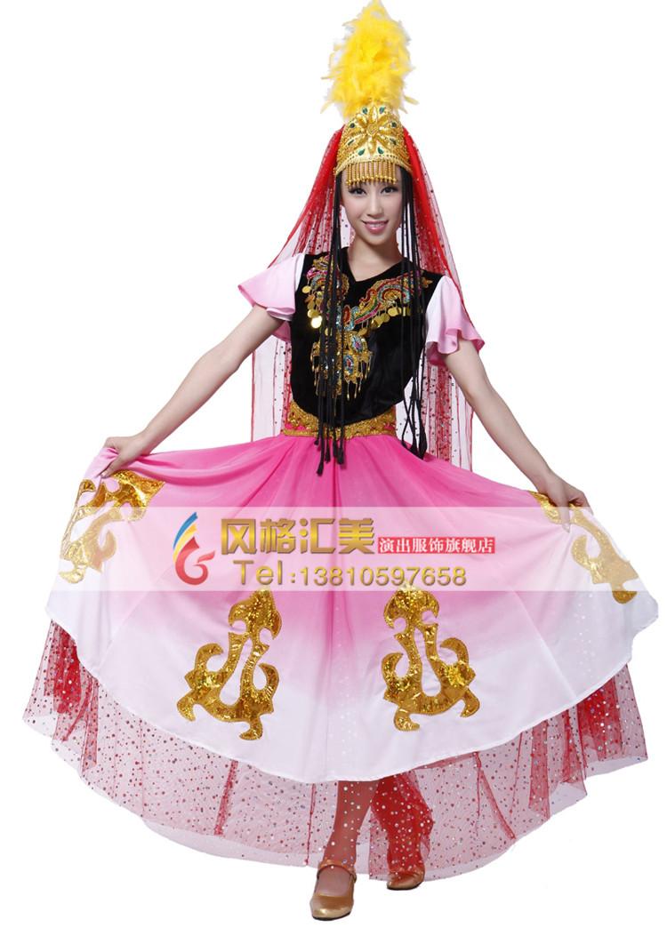 民族舞蹈服装的设计