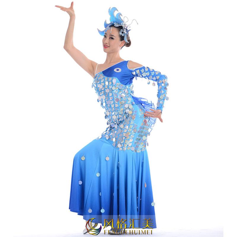 民族舞蹈服饰的定做特点和工艺流程