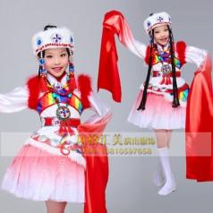 学生民族舞蹈演出服装设计生产厂家