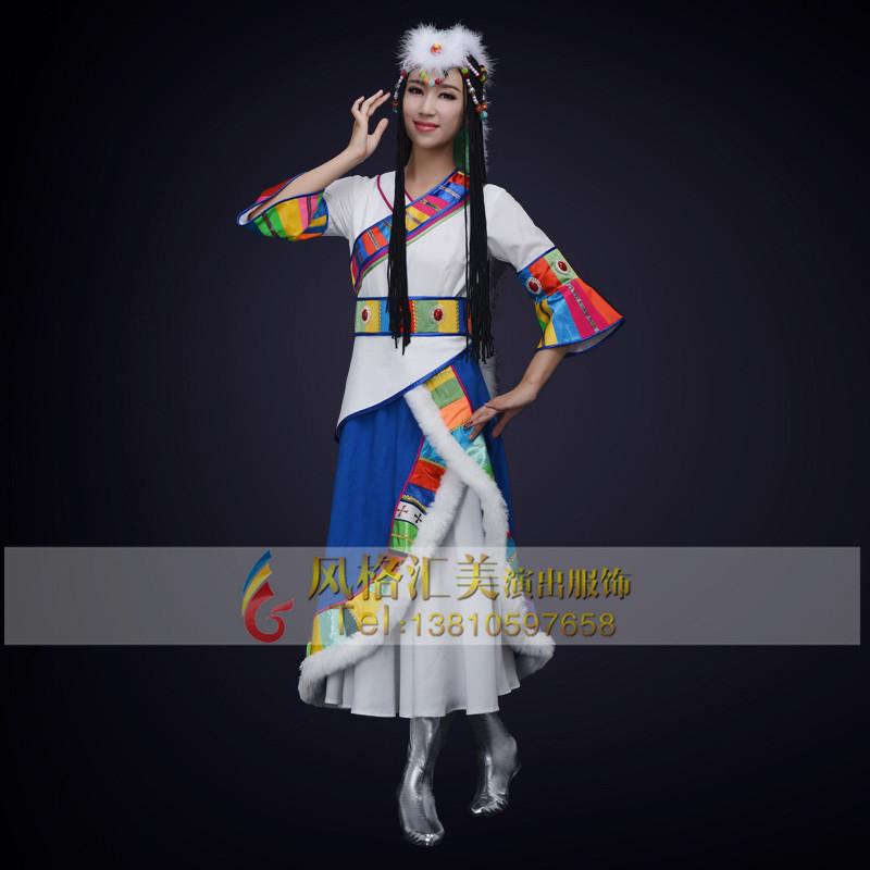 民族舞蹈演出服装制作工厂