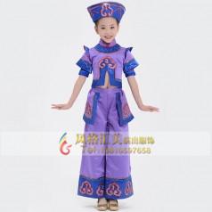 学生民族舞蹈演出服装设计定制