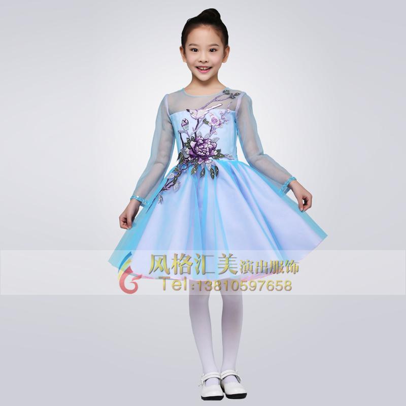 学生合唱演出服装设计定制