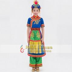 学生民族舞蹈演出服装设计