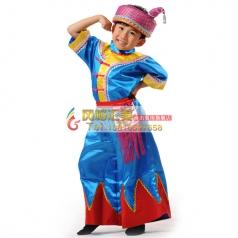 学生民族舞蹈服装定制