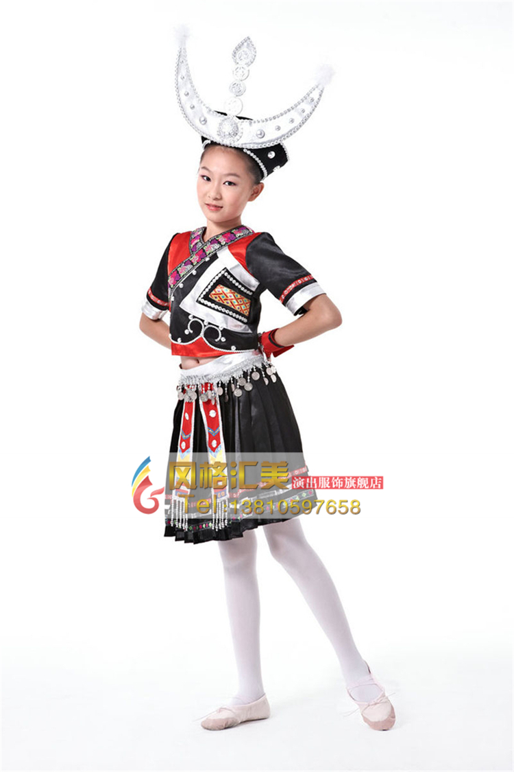 校园学生民族舞蹈演出服装生产厂家