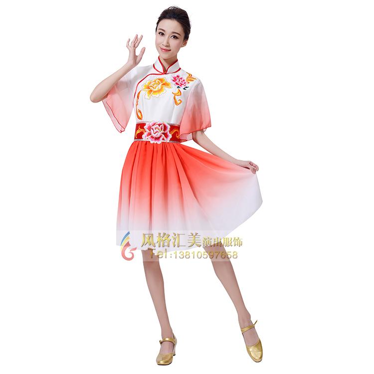 新款舞蹈演出服装定制厂家