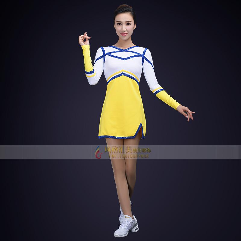 新款健美操演出服装设计