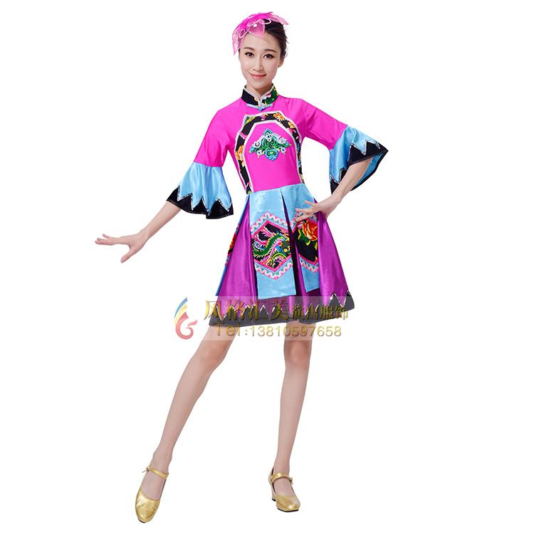 民族舞蹈演出服装生产制作