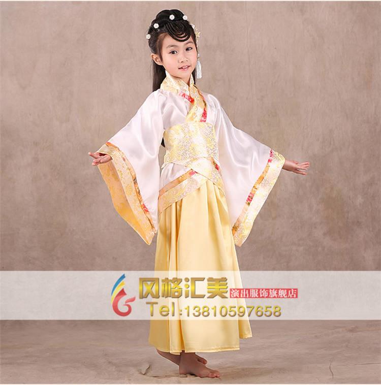 中国古代的服饰以其鲜明的特性,显示了穿着者的贵贱尊卑或性别职业,因而不同特点的服饰就成了不同社会地位人的代称,有的甚至沿用至今。儿童古装衣服与成人装有一点最大的区别是:成人装主要是合着装者的自我心意,而童装则更多地寄托了长辈亲人对孩子的爱,喜爱加上祝福。    儿童古装衣服定制在面料上有哪些选择了?