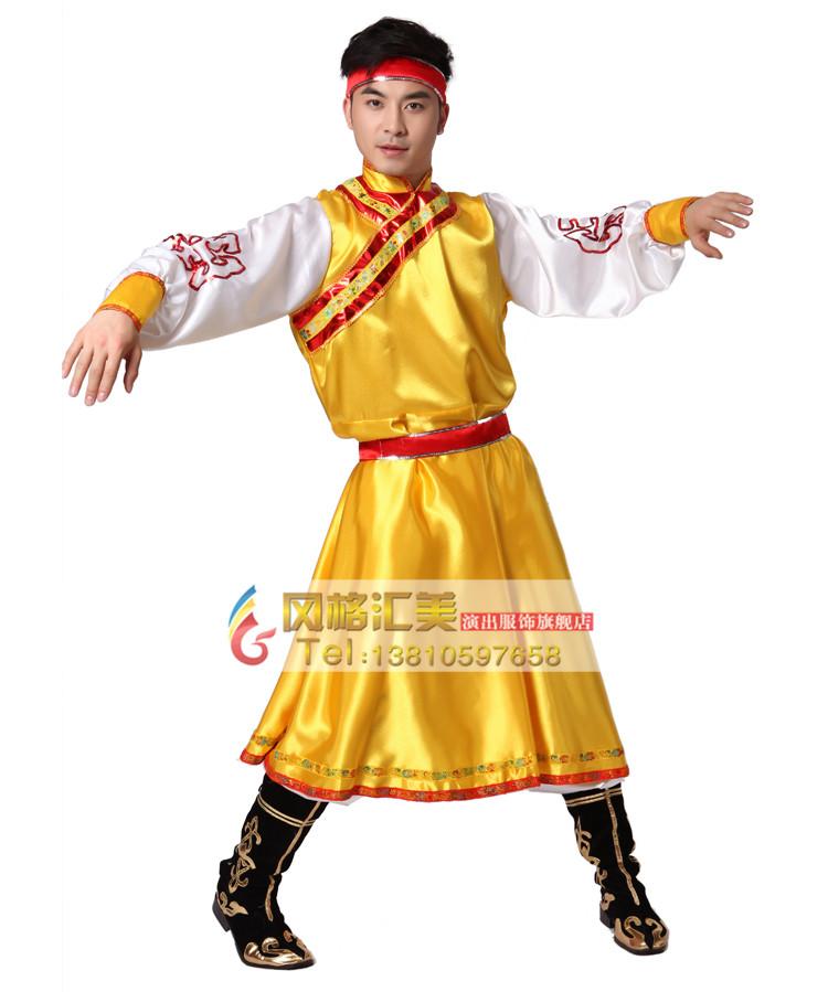 蒙古族舞蹈服有哪些特点