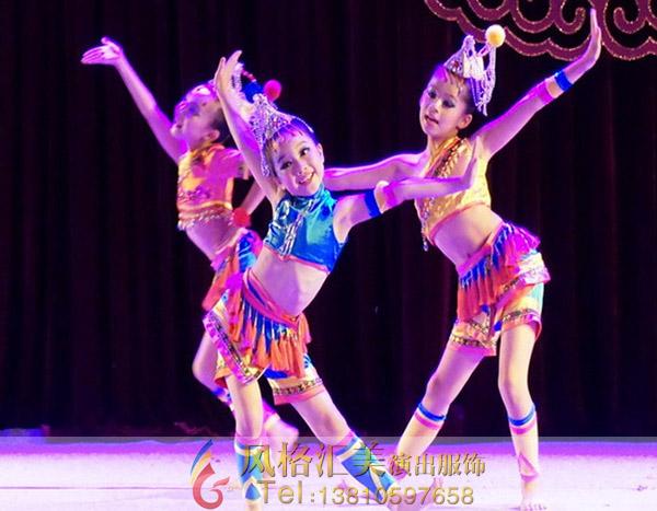 2017新款儿童舞蹈服装开启新年之旅