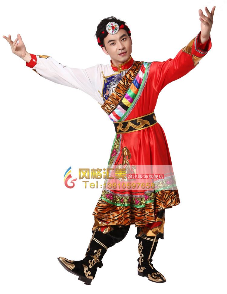 2017年表演藏族舞蹈这些藏族舞蹈服装不可少