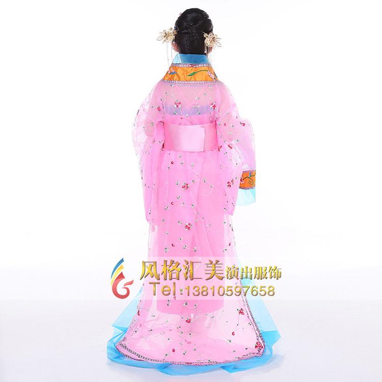 女童古代服装,儿童影视古装服装定制_风格汇美演出服饰