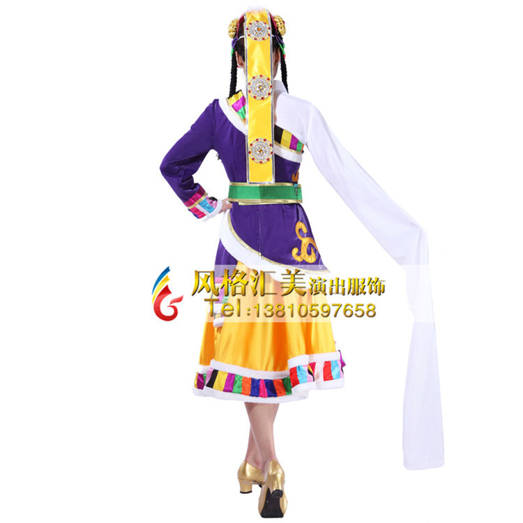 北京风格汇美专注于藏族舞蹈服装定做,设计,生产为一体的