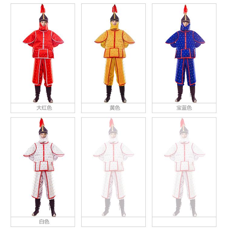 古装铠甲舞台服