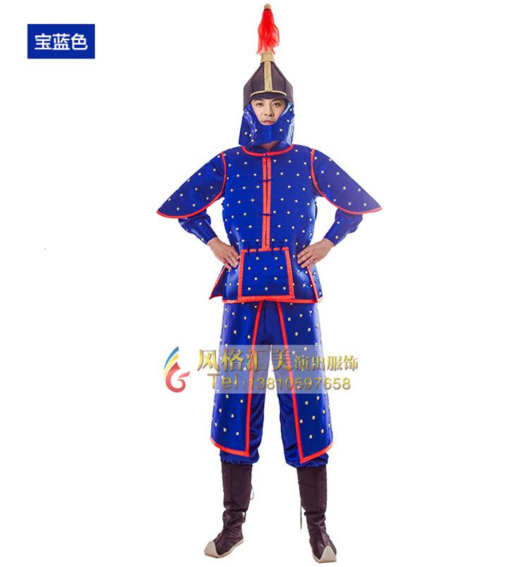 古装舞台铠甲服装