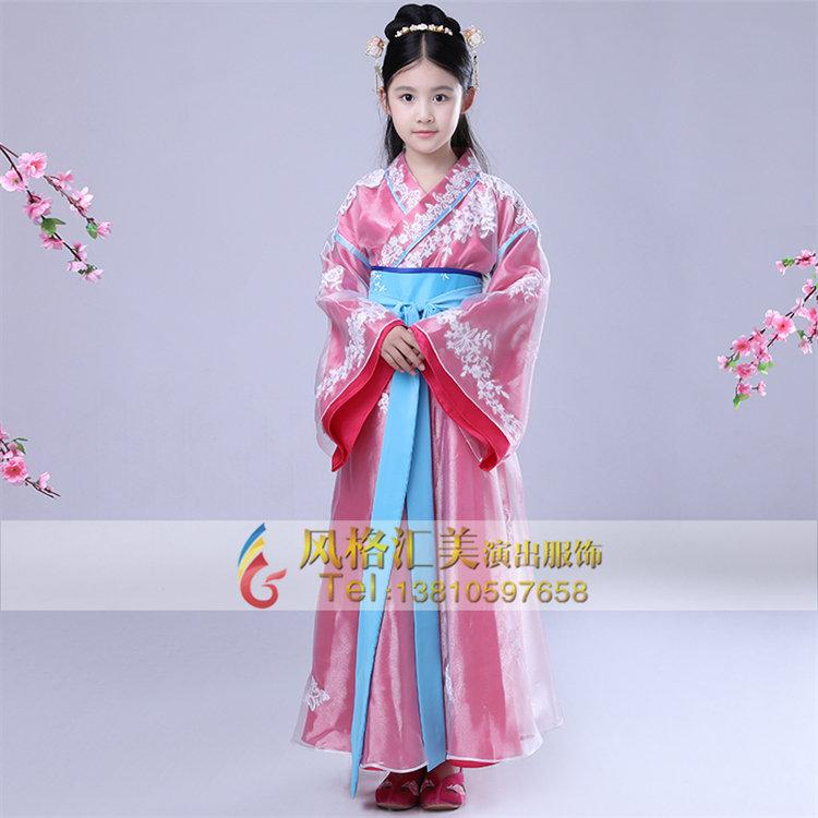 设计,生产为一体的儿童古装舞台服装定做厂家,联系方式:18611453880