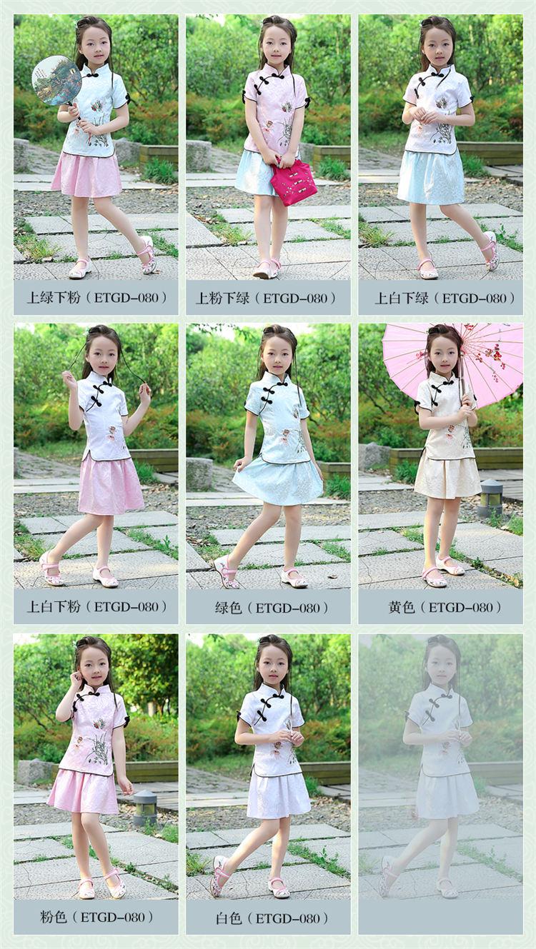 师团队,紧扣时代脉搏的儿童古装设计风格,致力成为演出服装潮流的引领