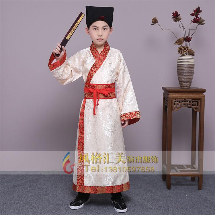 北京风格汇美演出服饰专注于儿童古代服装定制,设计,生产