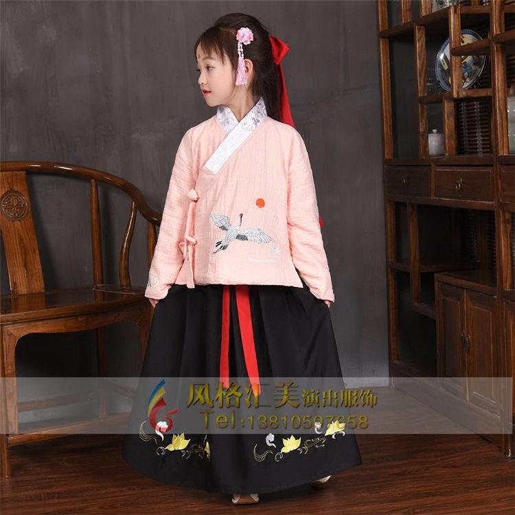 儿童古代服装定制设计