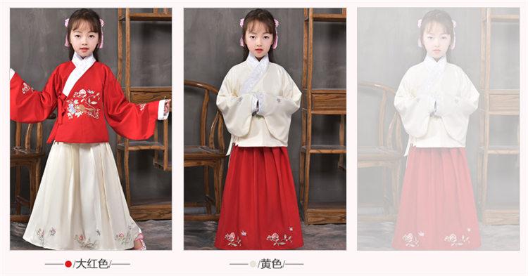 儿童古代服装