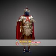 租赁古代盔甲 将军袍定制租赁服装