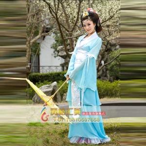古代平民服装,唐朝平民古装