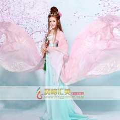 古代宫廷古装 中国汉代皇室服装  妃子服装