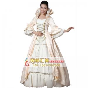 欧洲西式宫廷服装 公主演出服装