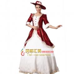 欧洲西式宫廷服装 公主表演服装