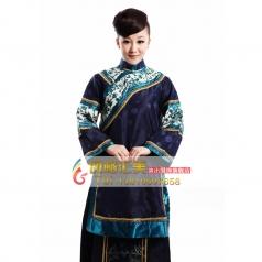 出租清朝女士服装  租赁年代舞台表演服装