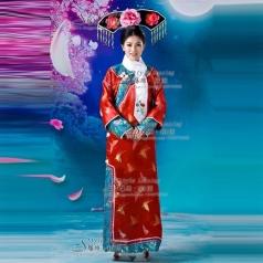 清朝格格装   年会用古代服装  演出服装