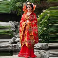 古代新娘服装   年会演出服 古装