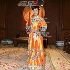 清朝皇后服装  格格古装
