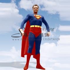 北京超人影视服装 美国超人演出服