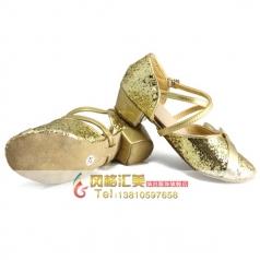 成人中跟舞蹈鞋 拉丁舞交谊舞表演鞋