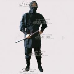 北京出租日本忍者服装 黑色忍术舞台装  年会表演服