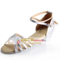 女士舞鞋 成人中跟拉丁舞蹈鞋