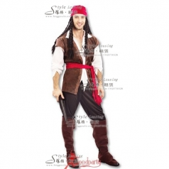 北京加勒比海盗船长服  舞台服装