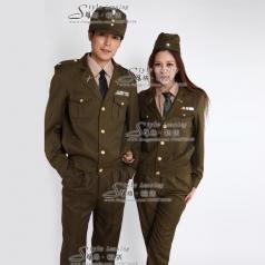 军队服装仪仗队制服 表演服装