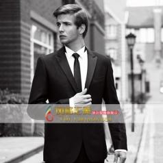 男士黑色礼服套装 西服套装表演服装